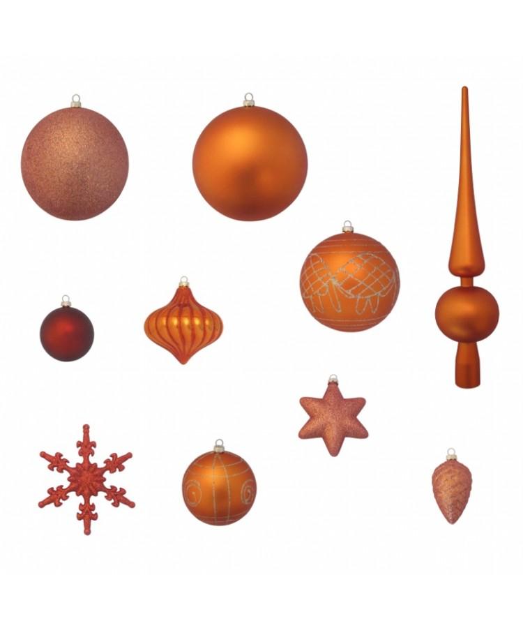 Luxury-Tree-Copper-120cm-Ornaments