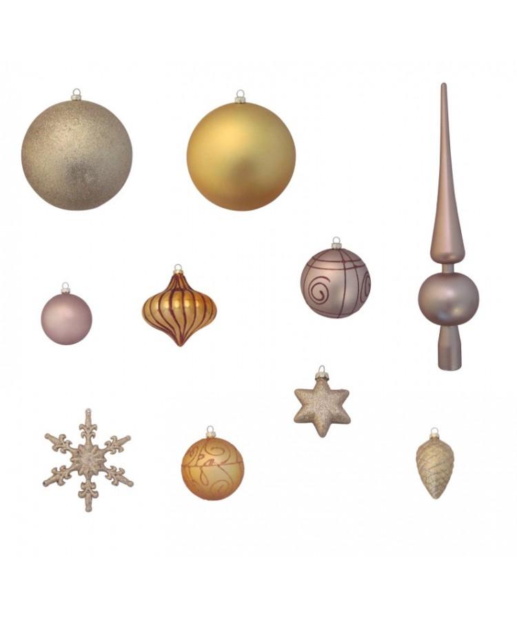 Luxury-Tree-Gold-180cm-Ornaments