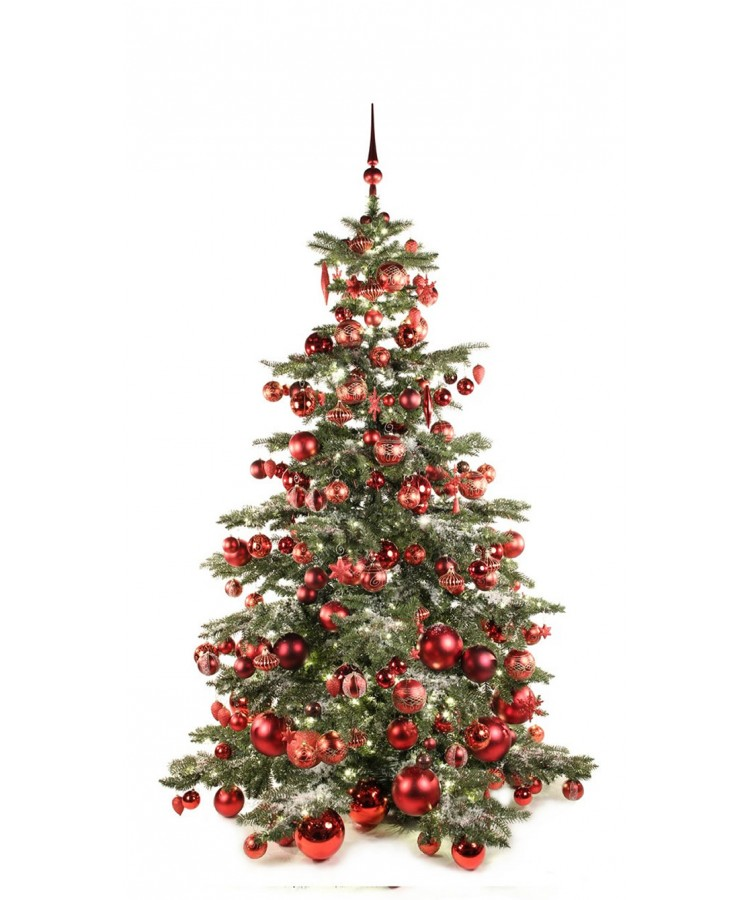 Luxury Tree Warm Bordeaux 210cm-0