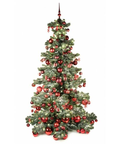 Basic Tree Warm Bordeaux 240cm-0