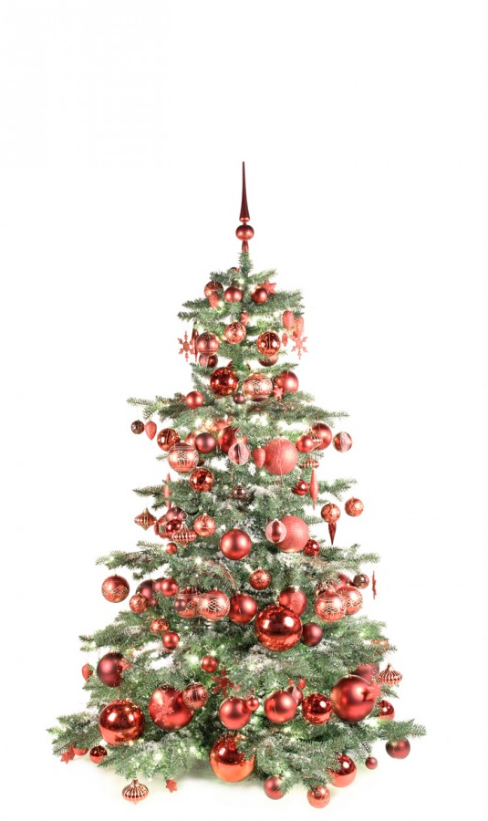 Luxury Tree Warm Bordeaux 180cm-1417